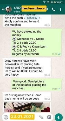fixed matches best tipster